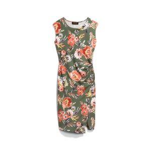 Saskia Floral Knit Dress